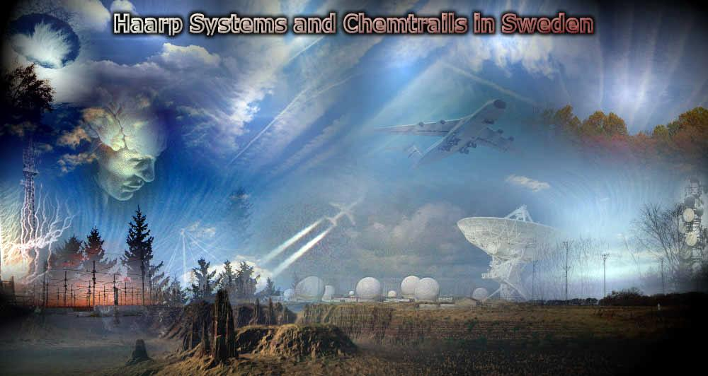 Chemtrail In Sweden And World Haarp System